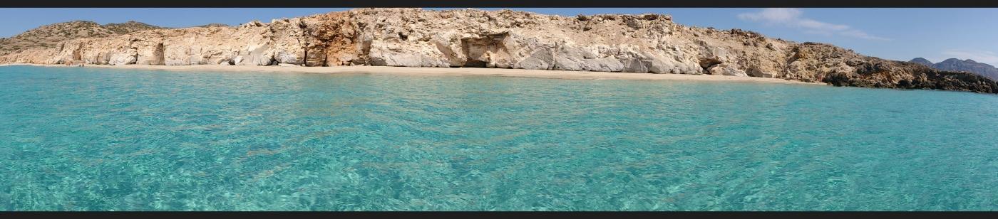 Armathia island - beach